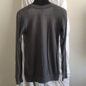 Forever 21 Sweaters - Grey half button sweater